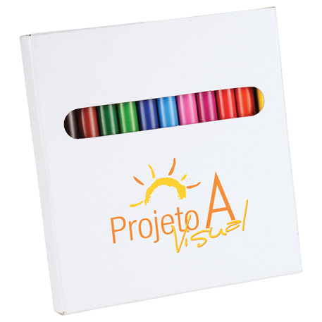 12-Piece Colored Pencil Set, SM-4460, 1 Colour Imprint