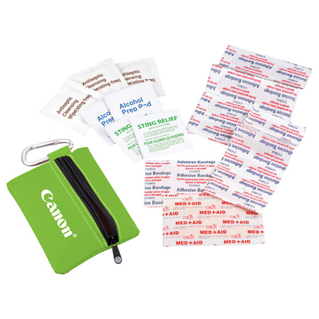 Zippered First Aid Pouch, SM-1502 - 1 Colour Imprint