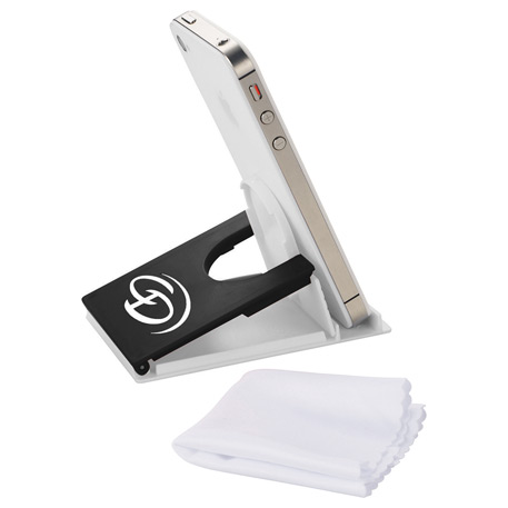 Snap Media Holder with Screen Cleaner, SM-3865, 1 Colour Imprint