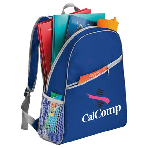 Matrix Budget Backpack, SM-7243, 1 Colour Imprint