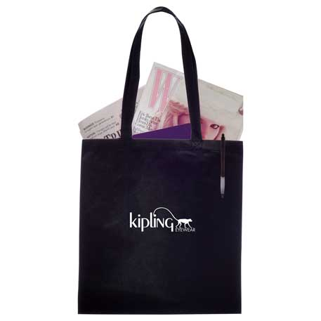 Zeus Non-Woven Convention Tote, SM-7440, 1 Colour Imprint