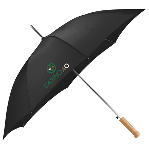 "Nola 48"" Steel Fashion Umbrella, SM-9548 - 1 Colour Imprint"