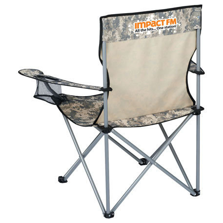 Wellington Event Folding Chair, SM-7775 - 1 Colour Imprint