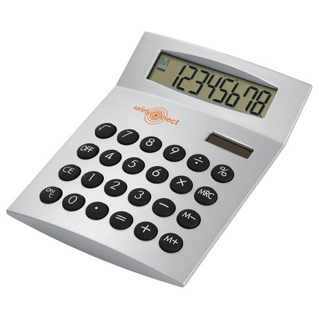 Monroe Desk Calculator, SM-3128 - 1 Colour Imprint