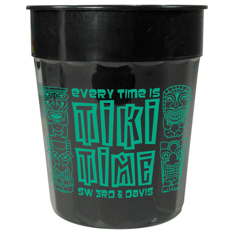 24-oz. Fluted Stadium Cup, HL-504 - 1 Colour Imprint