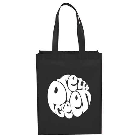 Mid-Size Laminated Shopper Tote, SM-7059 - 1 Colour Imprint
