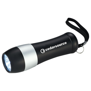 Odon 9-LED Flashlight, SM-9694, 1 Colour Imprint