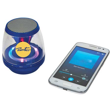 Rave Light Up Bluetooth Speaker, SM-3965 - 1 Colour Imprint