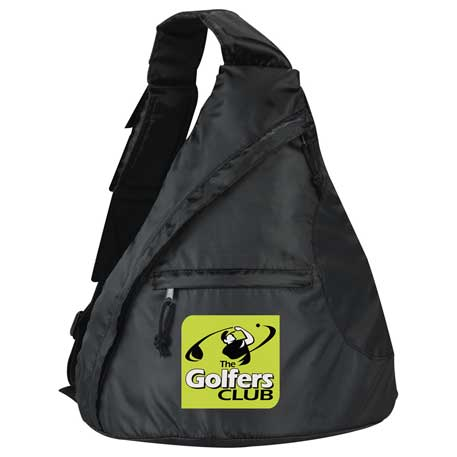 Downtown Sling Backpack, SM-7591 - 1 Colour Imprint