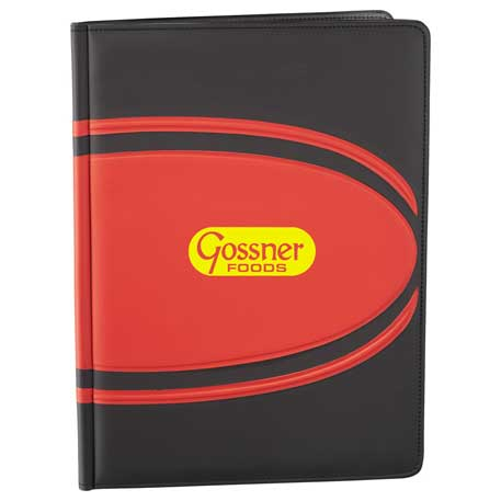 Ovals Padfolio, SM-3615, 1 Colour Imprint