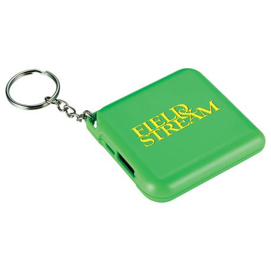 Emergency Keychain 1,800 mAh Power Bank, SM-3921 - 1 Colour Imprint