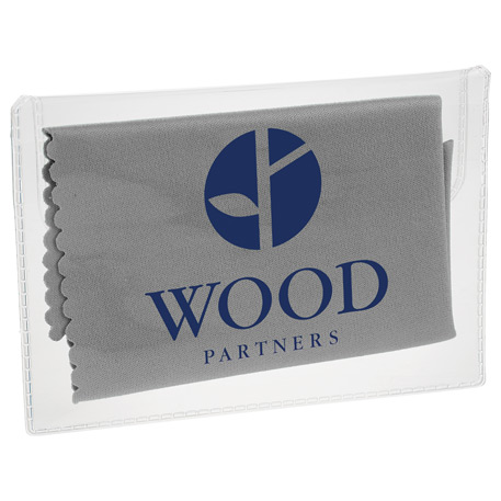 Microfiber Cleaning Cloth in Case, SM-3312, 1 Colour Imprint