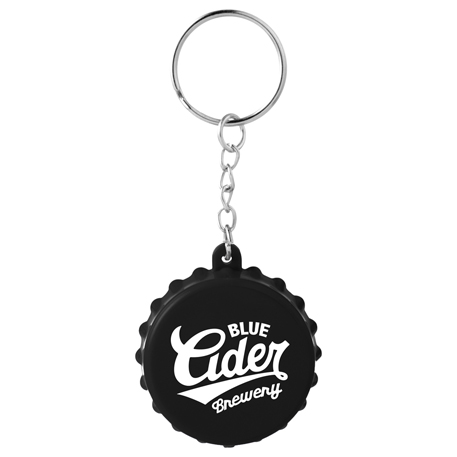 Beer Cap Keychain with Bottle Opener, SM-2314, 1 Colour Imprint