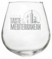 12 oz. Rocking Stemless Wine Glass