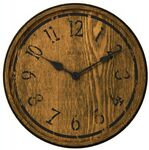 Custom Bulova Oakely Large Round Wall Clock
