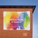 12 oz Large Format Mesh Banner with Webbing (8'x22')