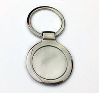 Round Metal Key Ring