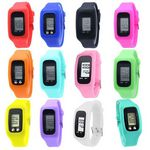 Custom Silicone Watch With Pedometer