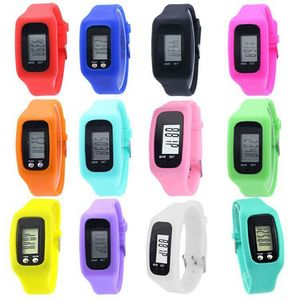 Silicone Watch With Pedometer