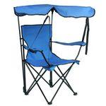 Custom Folding Beach Chair w/Canopy