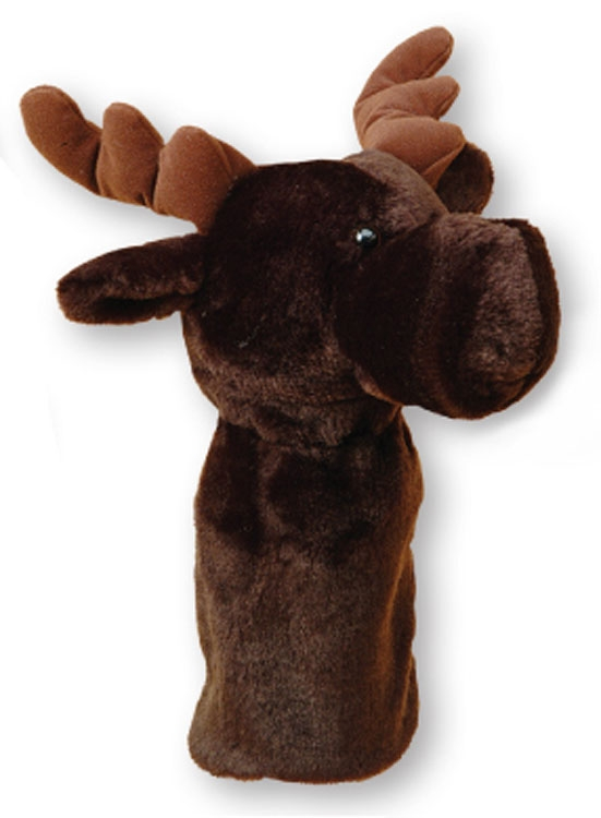 Animal Headcovers (Moose) - Embroidered Up To 5000 Stitches