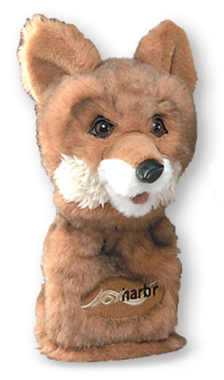 Animal Headcovers (Fox) - Embroidered Up To 5000 Stitches