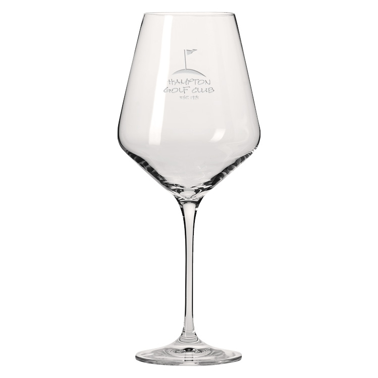 17 oz. Obsession Red Wine Glass - Deep Etched Imprint