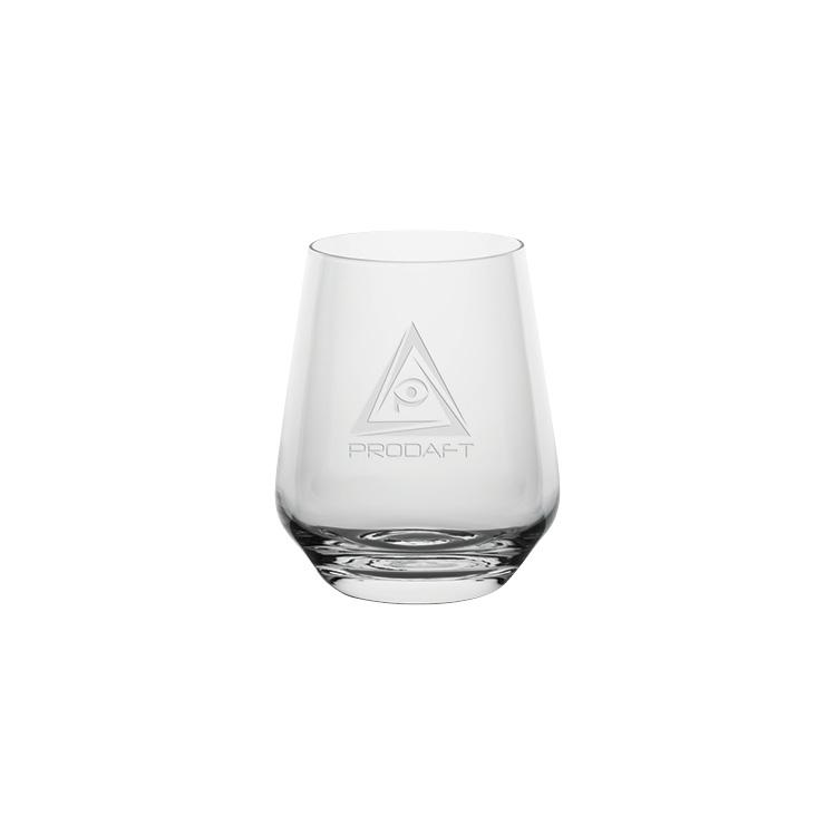 Passion Double Old Fashion Glasses 13.5 oz. - Deep Etched Imprint