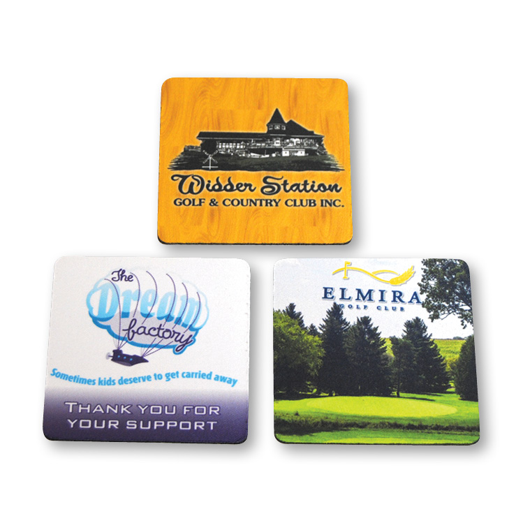 Neoprene Coaster Set - Full Colour Imprint