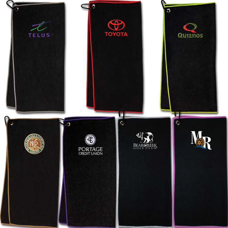Tour Tech Golf Towel - Embroidered Up To 5000 Stitches