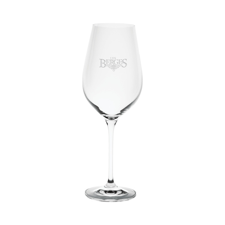 Harmony Red Wine Glass 16 oz. - Deep Etched Imprint