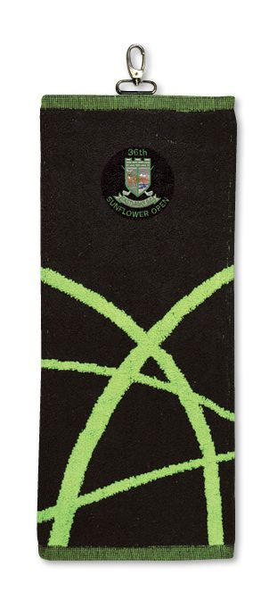 Arc Golf / Sport Towel - Embroidered Up To 5000 Stitches