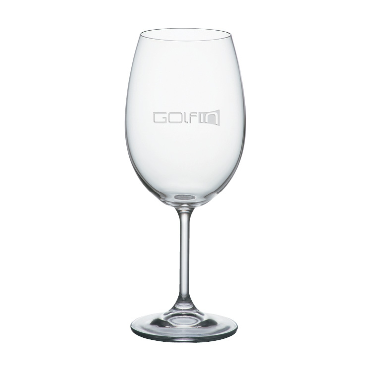 16 oz. Home Wine Glass - Deep Etched Imprint