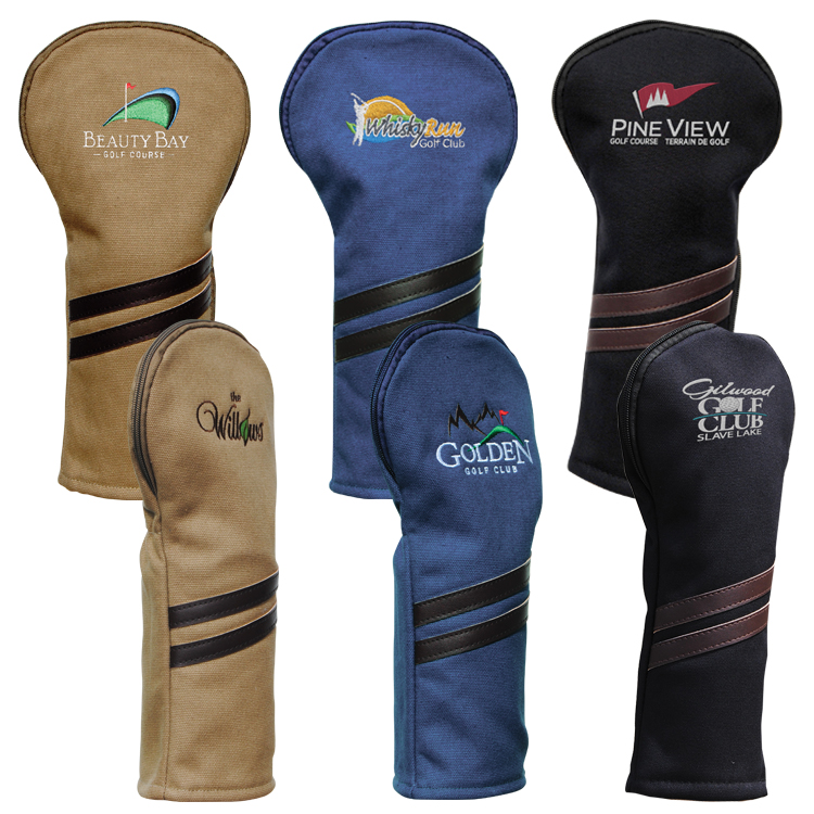 Classic Canvas Headcover - Embroidered Up To 5000 Stitches