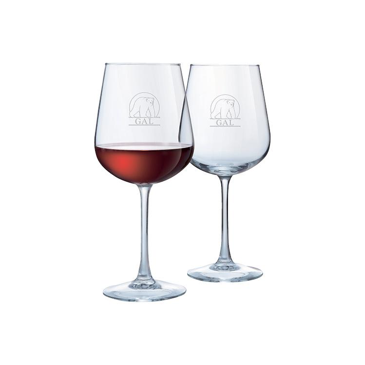 Napa Wine Glass 18.5 oz - Deep Etched Imprint