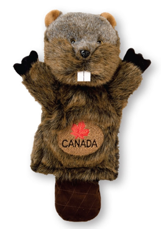 Animal Headcovers (Beaver) - Embroidered Up To 5000 Stitches