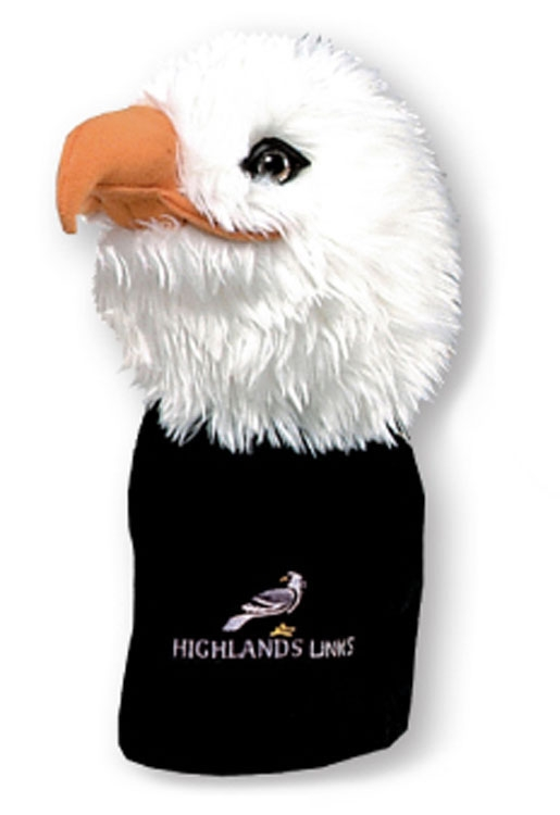 Animal Headcovers (Eagle) - Embroidered Up To 5000 Stitches