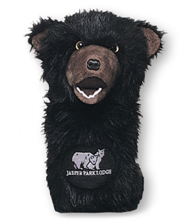 Animal Headcovers (Bear) - Embroidered Up To 5000 Stitches
