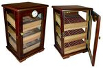 Custom The Milano 125 Count Cigar Countertop Display Humidor with Trays