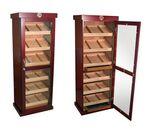 Custom The Barbatus 2000 Count Cigar Cabinet Humidor