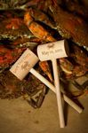 Custom Crab Mallets - Hammers for all of your seafood dinners, ETCHED in one or two locations