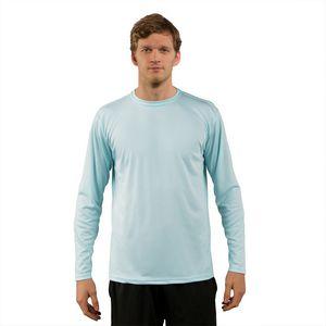 Custom Men's Solar Performance Long Sleeve T-Shirt
