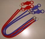 Lobster Claw Bungee Cord Lanyard (12