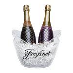 Custom Small (1-2 Bottle) Acrylic Champagne Wine Ice Bucket