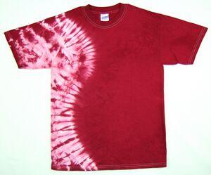 Custom Maroon Vertical Wave Short Sleeve T-Shirt