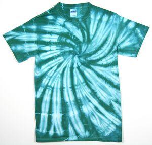 Custom Aqua Web Short Sleeve T-Shirt