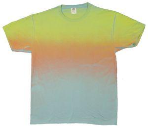 Custom Sunset Ombre Short Sleeve T-shirt