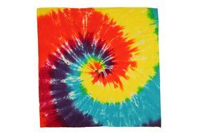 Classic Rainbow Spiral Bandana