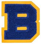 Custom Standard Chenille Letter Patches (4