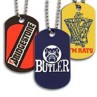 Custom 2D Soft Rubber Dog Tags
